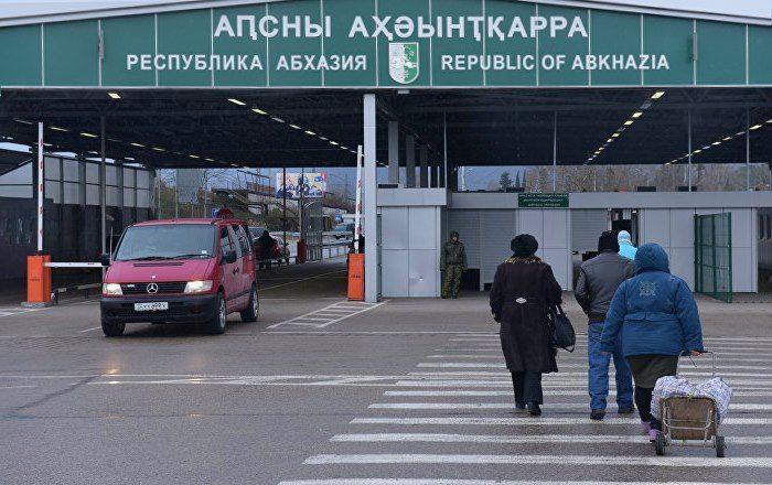 Propusknoj punkt na granitse Rossii i Abhazii - Нужен ли загранпаспорт в Абхазию для россиян в 2020 году