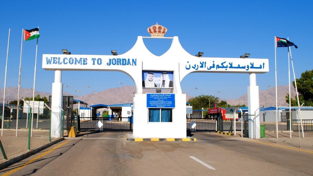 Граница Иордании и Израйля