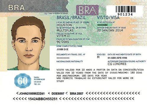Изображение - Виза в бразилию Visto