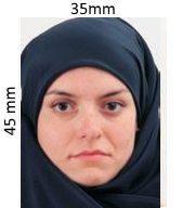 Образец фото на визу в Харватию