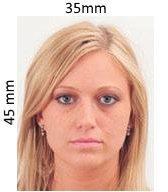 Образец фото на Хорватскую визу