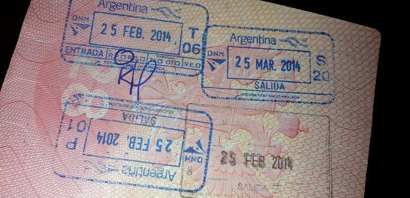 Нужна ли виза в Аргентину